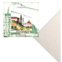 Блок TOSCANA 20*20 см 300 г/м, 20 листов, 100 % хлопок