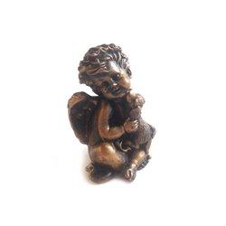 Фигура Ангел с собачкой