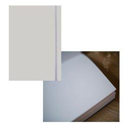 Скетчбук 19х25,5 Large Aqua серый