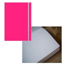 Скетчбук 19х25,5 Large Aqua ярко-розовый