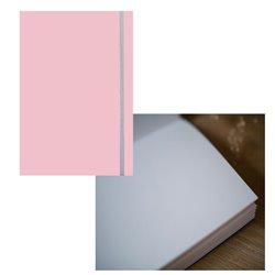 Скетчбук 19х25,5 Large Aqua пыльно-розовый