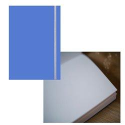 Скетчбук 19х25,5 Large Aqua синий