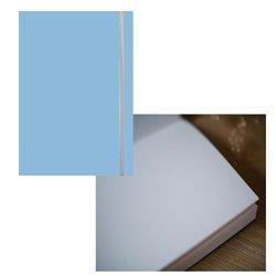 Скетчбук 19х25,5 Large Aqua голубой