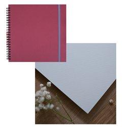 Скетчбук 20x20 watercolor кирпичный 25% хлопок