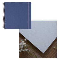 Скетчбук 20x20 watercolor дымчатый 25% хлопок