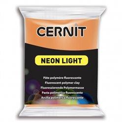 """Полимерный моделин """"Cernit Neon"""" 56гр. оранжевый 752"""