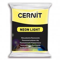 """Полимерный моделин """"Cernit Neon"""" 56гр. желтый 700"""