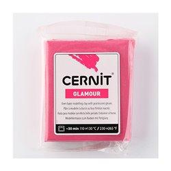 """Полимерный моделин """"Cernit-Glamour"""" 56гр./карминовый 420"""