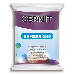"""Полимерный моделин """"Cernit Number One"""" 56гр. мальва 941"""