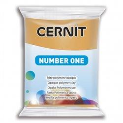 """Полимерный моделин """"Cernit Number One"""" 56гр. охра желтая 746"""