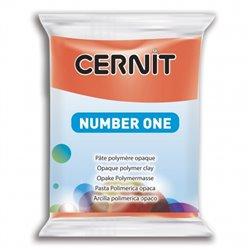 """Полимерный моделин """"Cernit Number One"""" 56гр. красный мак 428"""