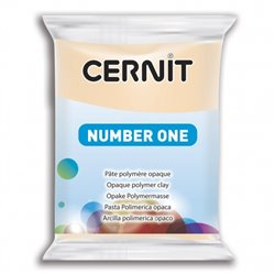 """Полимерный моделин """"Cernit Number One"""" 56гр. телесный 425"""