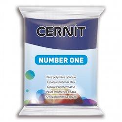 """Полимерный моделин """"Cernit Number One"""" 56гр. темно-синий 246"""