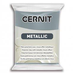 """Полимерный моделин """"Cernit Metallic"""" 56гр. сталь"""