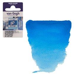 Краска акварельная Van Gogh кювета №535 Лазурно-синий фталоцианин