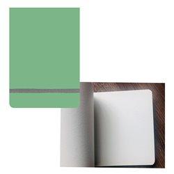 Скетчбук 11х15,5 pocket aqua зеленый чай