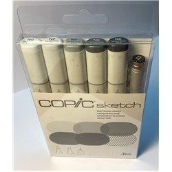 Набор маркеров COPIC sketch Sketching Greys 2 (6 цв.)