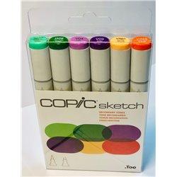 Набор маркеров COPIC sketch Secondary tones (6 цв.)