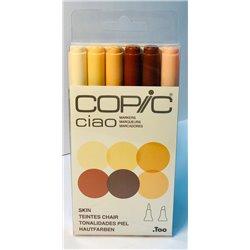 Набор маркеров COPIC CIAO Skin Tones (6цв)