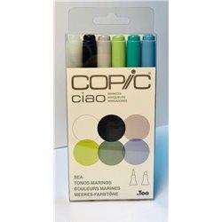 Набор маркеров COPIC CIAO Море (6цв)