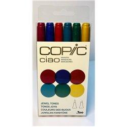 Набор маркеров COPIC CIAO Jewels Tones (6цв)