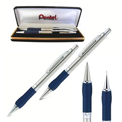 Набор Sterling (шариковая ручка 0,8 мм + автомат. карандаш 0,5 мм) в футляре