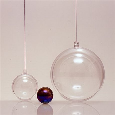 Прозрачный пластиковый шар 180мм