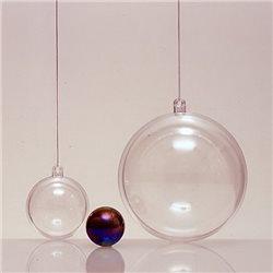 Прозрачный пластиковый шар 200мм