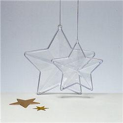 Звезда пластиковая, 80мм