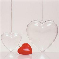 Сердечко пластиковое, 100мм