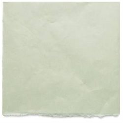 Японская бумага Kitakata бледно-зеленая 43*52 см, 36 г/м2 для печатных техник, реставрации