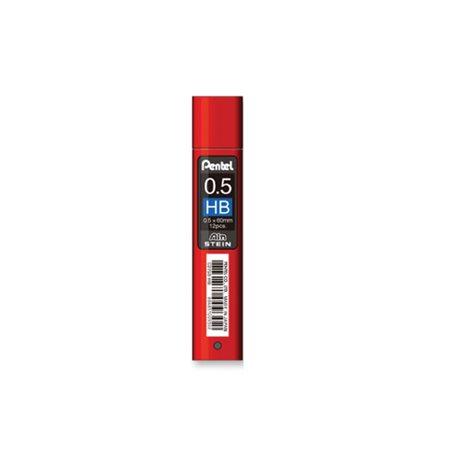 Грифели для карандашей автоматич. Ain Stein 0.5мм. 12шт.HB