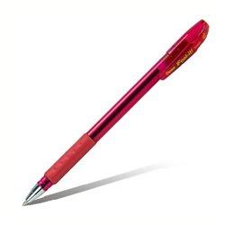 Шарик. ручка Feel it!, металлич. наконечник, 3-х гранная зона захвата,красный стержень,1.0мм