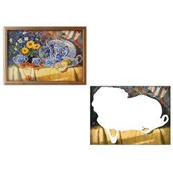 Чаепитие - мозаичная картина