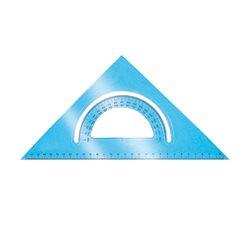 Треугольник- транспортир 30 см/45 град.