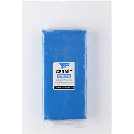 """Полимерный моделин """"Cernit Number One"""" 500 гр./голубой 200"""