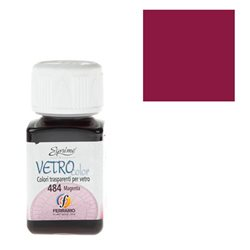 """Краски по стеклу """"Esprimo-Vetro Color"""" №476 -рубин/50мл"""