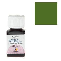 """Краски по стеклу """"Esprimo-Vetro Color"""" №483 -Травяной зеленый/50мл"""