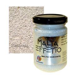 "Паста - белый песок Ferrario ""Malta Effetto Sabbiata""/б.150мл"