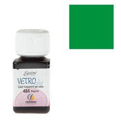 """Краски по стеклу """"Esprimo-Vetro Color"""" №467 -зеленый/50мл"""