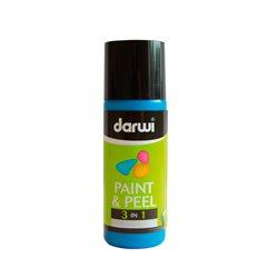 Краска трансфертная Paint & Peel/ Светло-голубая 80 мл