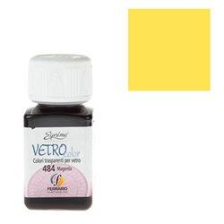 """Краски по стеклу """"Esprimo-Vetro Color"""" №475 -лимонный жёлтый/50мл"""