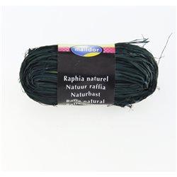 Бечевка из пальмового лыка RAFIA (натур)/ для подарочн. упаковки/Зелен