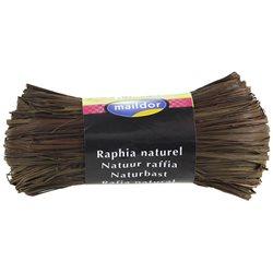 Бечевка из пальмового лыка RAFIA (натур)/ для подарочн. упаковки/Шоколад