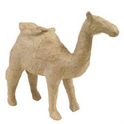 Верблюд с седлом/ папье-маше/ 13х13х5см