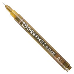 Мультилайнер GRAPHIK Line marker 0.1 / Сепия