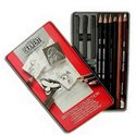 "Набор ""Sketching Collection"" /12 шт. в мет. кор."