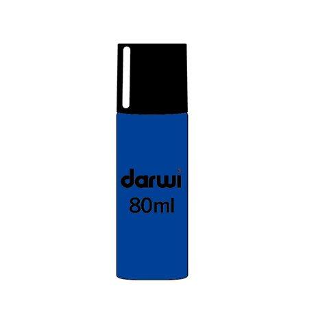 Краска трансфертная Paint & Peel/ Синий глиттер 80 мл