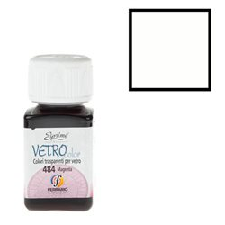 "Краски по стеклу ""Esprimo-Vetro Color"" №461 -белый/50мл"