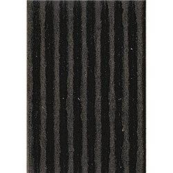 Картон цв. гофриров. средний. 300г/м, 50х70 см /Черный